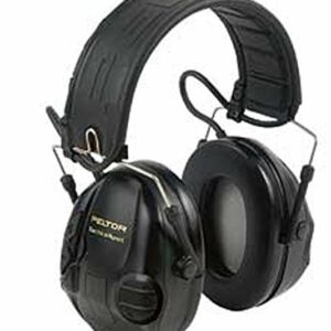 3M Peltor Over the Head Black Eletron Spot Tactical Hearing Protection