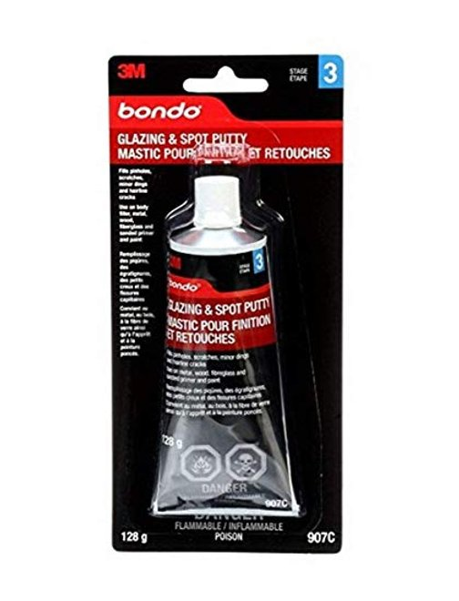 3M Bondo Glaze-Spot Putty, 4.5 oz, 12pack