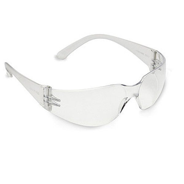 KIMBERLY-CLARK PROFESSIONAL V10 Element* Safety Eyewear, Clear Lens, Polycarbonate, Uncoated, Clear Frame