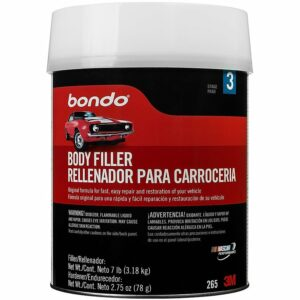 BONDO 262 Quart Body Filler with Cap, 6pack
