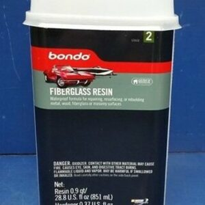 BONDO 402 Fiberglass Resin, 6pack