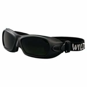 JACKSON SAFETY V80 Wildcat Goggles, IR/UV 5.0/BLACK